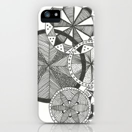 Wheels of Life iPhone Case