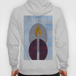 Candle Light Abstract Hoody
