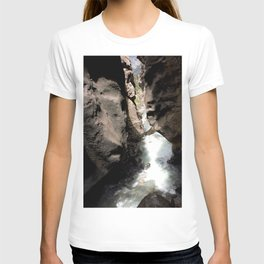 Looking Out toward Ouray from Box Canyon Falls T-shirt