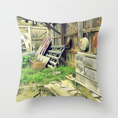 Nature Taking Over Throw Pillow
