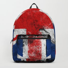 United Kingdom flag Grunge Backpack
