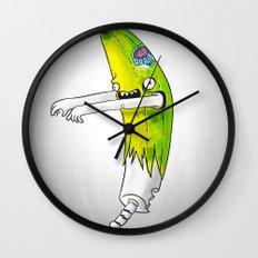 Banana Zombie Wall Clock