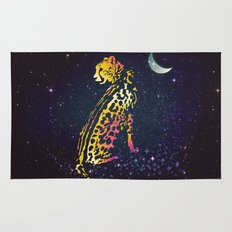 Space Leopard Rug