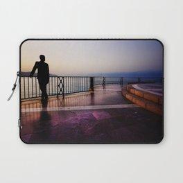 Balcon de Europa silhouette Laptop Sleeve