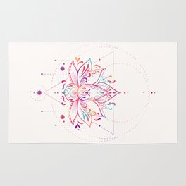 Lotus Prism Rug