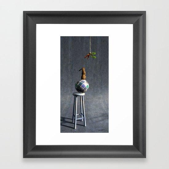 Equilibrium II Framed Art Print