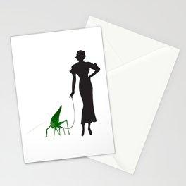 Grasshopper Gal Stationery Cards