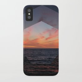 A Sunny Setting iPhone Case