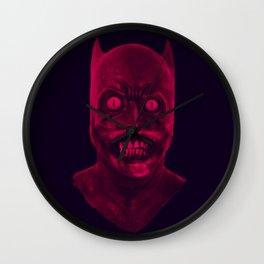 UNDEAD BAT MAN Wall Clock