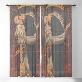 Halam'shivanas Sheer Curtain