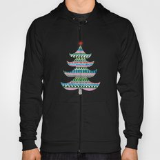 Christmas tree stripe Hoody