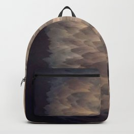 Soft light through the feathers Backpack