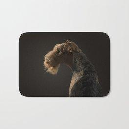 Airedale Terrier dog Bath Mat