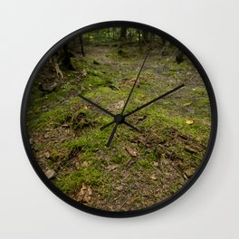 Forest Peace Wall Clock