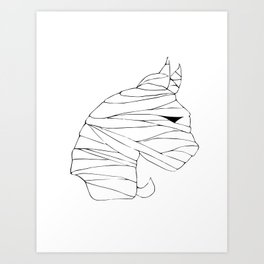 Mummy Doo Art Print