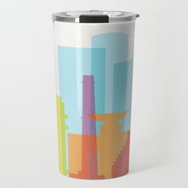 Shapes of Tel Aviv Travel Mug