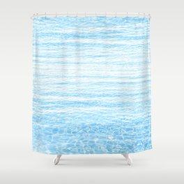 peaceful sea Shower Curtain