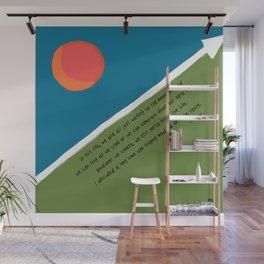 SINGING MADE A LOT MORE SENSE Wall Mural