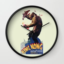 King Kong Retro Wall Clock