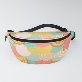 Pastel Scales Fanny Pack