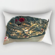 Hannibal: Take retreat in the safety of your mind Rectangular Pillow