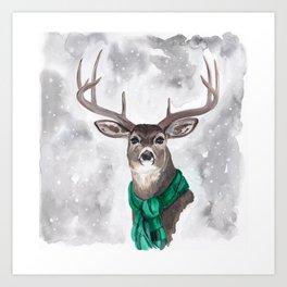 Mr. GQ Buck Art Print