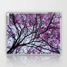 Exotic pink - tropical trees Laptop & iPad Skin