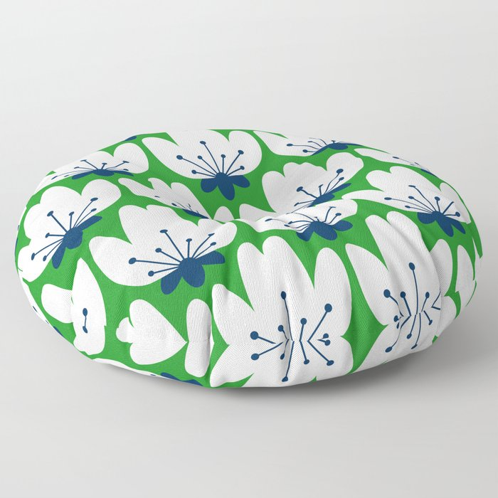 FLORAL_BLOSSOM_003 Floor Pillow
