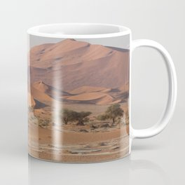 Desert textures - Sossusvlei desert, Namibia Coffee Mug