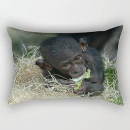 Cheeky Bonobo Baby Rectangular Pillow