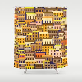 Urban Favela Shower Curtain