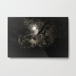 Snowy Nights Metal Print