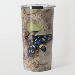 Amata phegea moth Travel Mug
