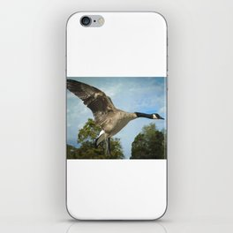 Gandy Goose In Flight iPhone Skin
