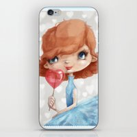 valentine iPhone & iPod Skins featuring Valentine by Jenny Lindqvist