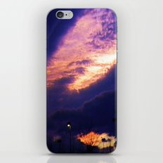 Scary skies iPhone & iPod Skin