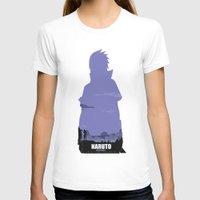 sasuke T-shirts featuring NARUTO SHIPPUDEN - Sasuke by ReachArt