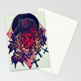 Cage the Heart Stationery Cards