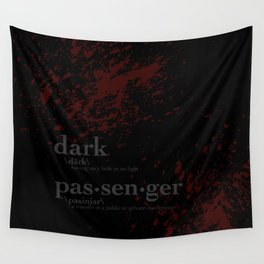 Dark Passenger Wall Tapestry