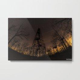 Ninham Fire tower Metal Print