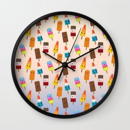 Chilled Friends Wall Clock