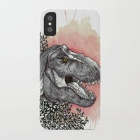 dinosaur iPhone & iPod Cases featuring Dinosaur by Gemma Goode