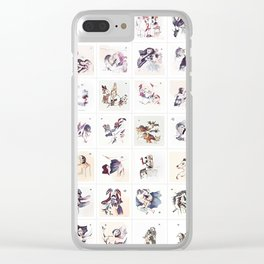 Collection 4x7 ~ Los Caprichos Clear iPhone Case