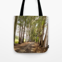 Spin Road Tote Bag