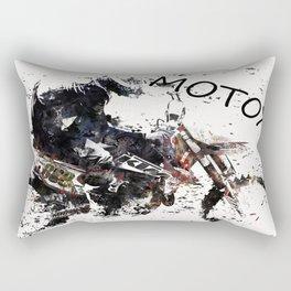 Motox Racer Rectangular Pillow