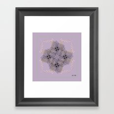 Fleuron Composition No. 6 Framed Art Print