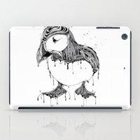 puffin iPad Cases featuring Hawt Puffin by Gwyn Hockridge