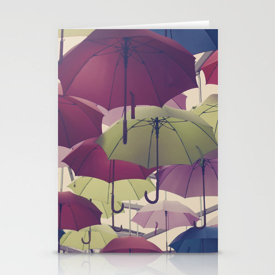 Why does it always rain on me? Stationery Cards