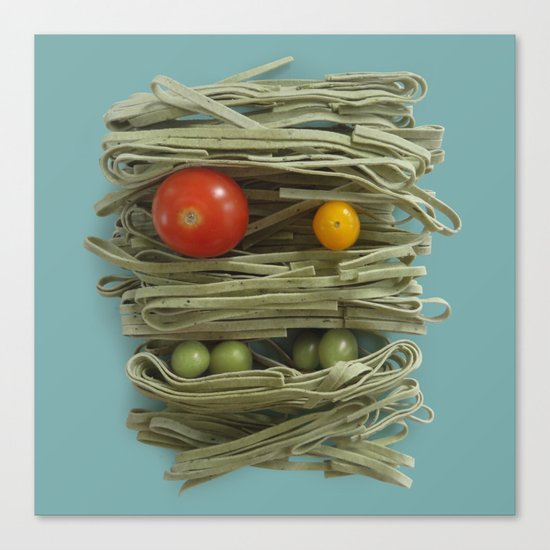A Thing of the Pasta 2  Canvas Print