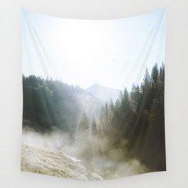 Steamy Colorado Sunrise Wall Tapestry